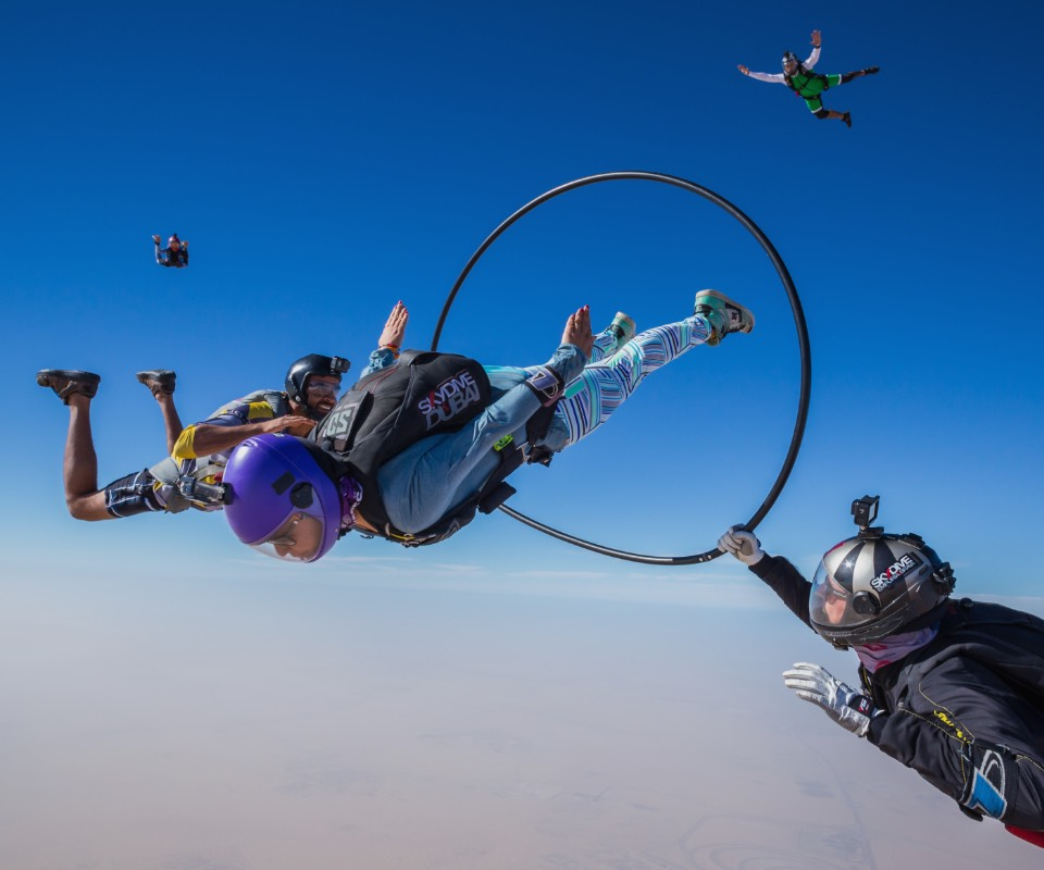 Skydive Dubai | Tandem Skydive in Dubai | Extreme Air Sports